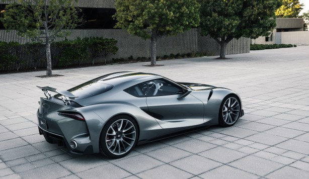 Toyota FT-1 concept MkII rear quarter