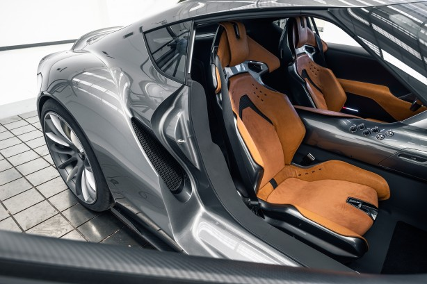 Toyota FT-1 concept MkII seats