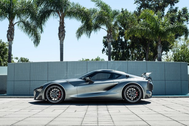 Toyota FT-1 concept MkII side