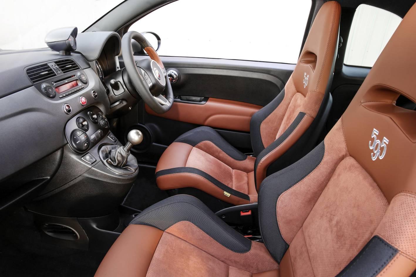 Abarth 595 Competizione Interior 2015 Fiat 500