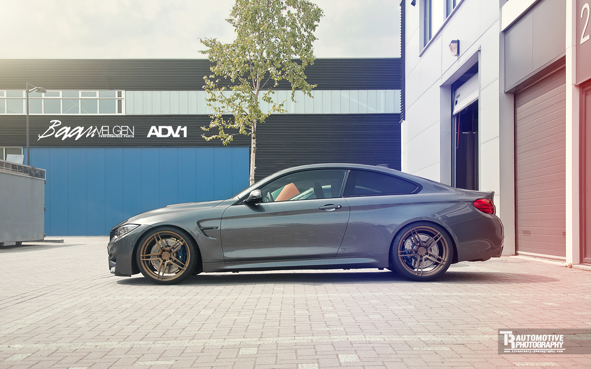 Bmw M4 Coupe Tweaked With Adv 1 Wheels Forcegt Com