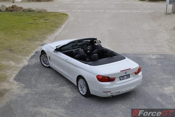2014 BMW 4 Series Convertible top