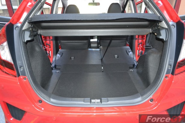 2014 Honda Jazz VTi-L luggage space
