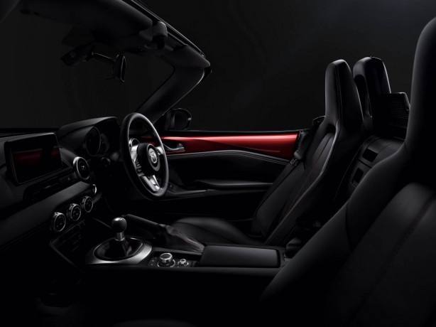 2015 Mazda MX-5 interior