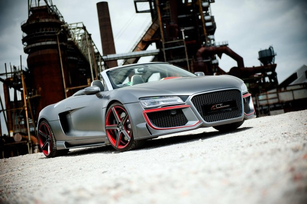 Audi R8 customised by CT Exclusive front quarter-1