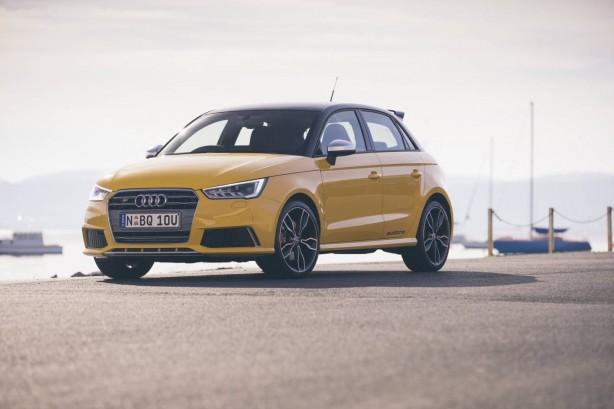 Audi S1 Sportback front quarter