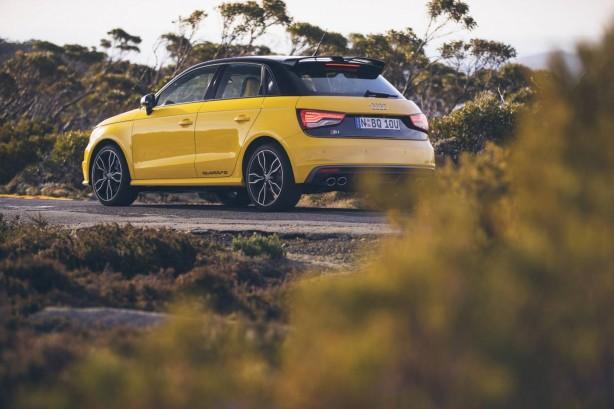 Audi S1 Sportback rear quarter