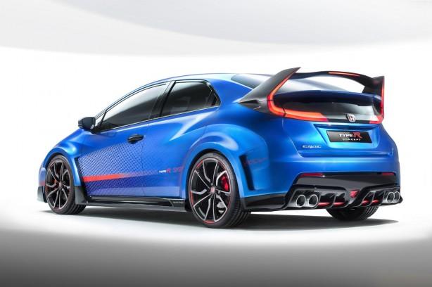 Honda Civic Type R concept II rear quarter