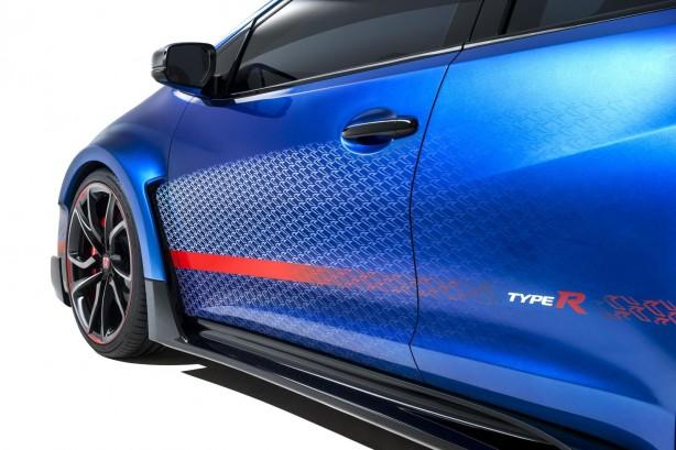 Honda Civic Type R concept II side-1