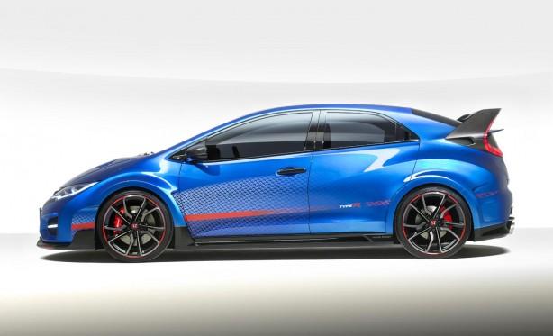 Honda Civic Type R concept II side