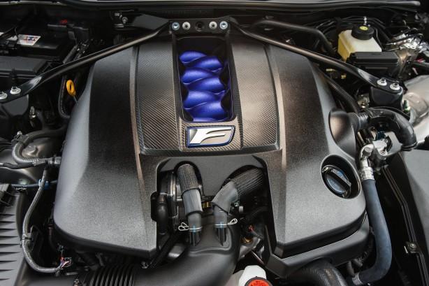 Lexus RC F Coupe engine