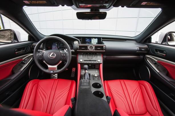 Lexus RC F Coupe interior