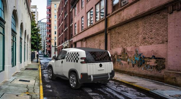 Toyota Urban Utility (U2) concept rear quarter