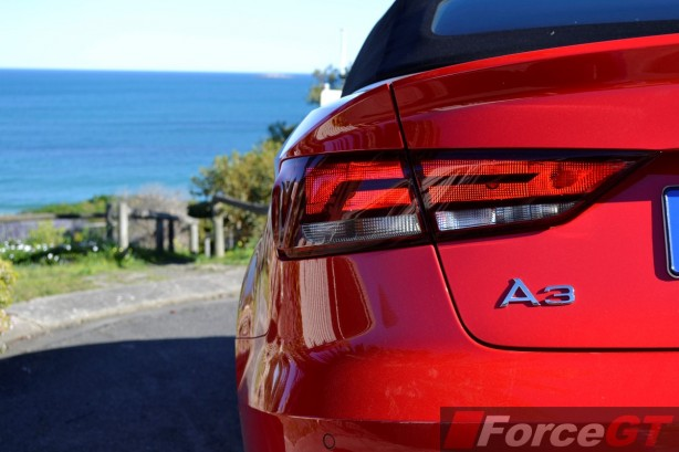 2014 Audi A3 1.4 TFSI Attraction rear