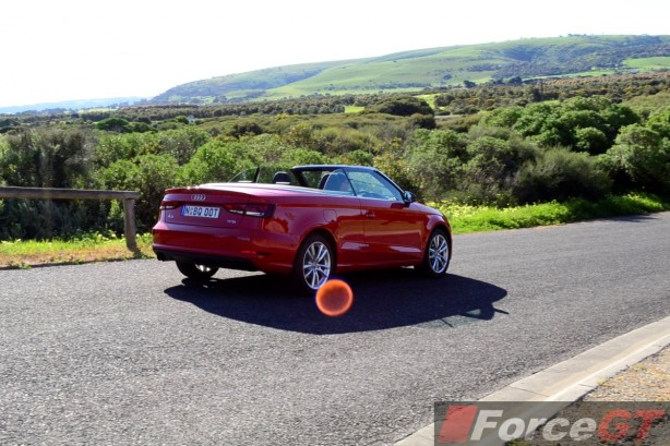 2014 Audi A3 1.4 TFSI Attraction rear quarter-1