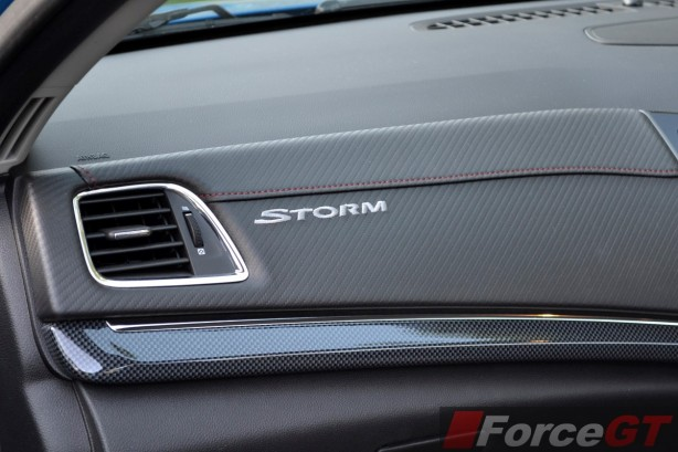 2014 Holden VF SS Storm Ute interior Storm signature