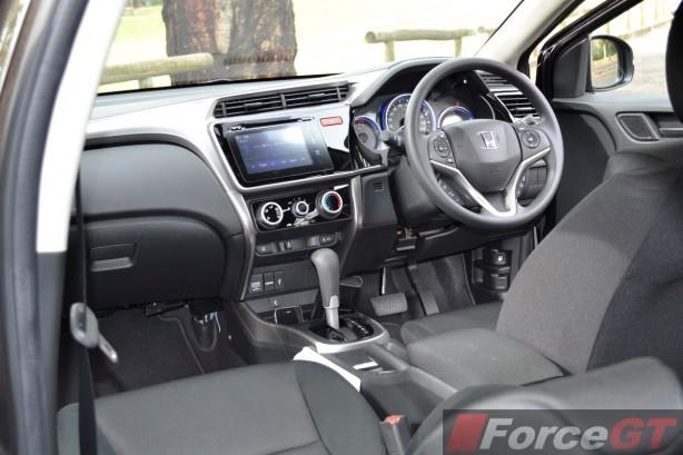 2014 Honda City VTi interior