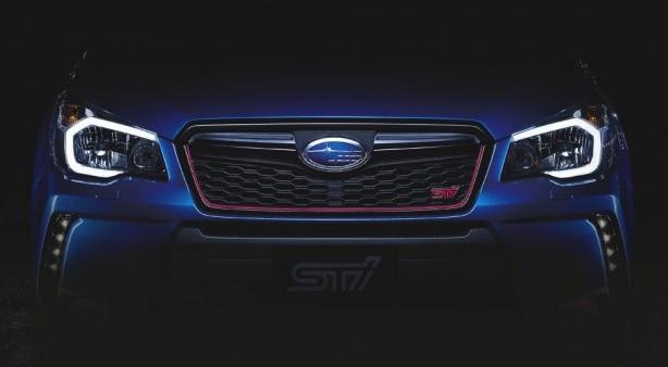 2015 Subaru Forester STI front