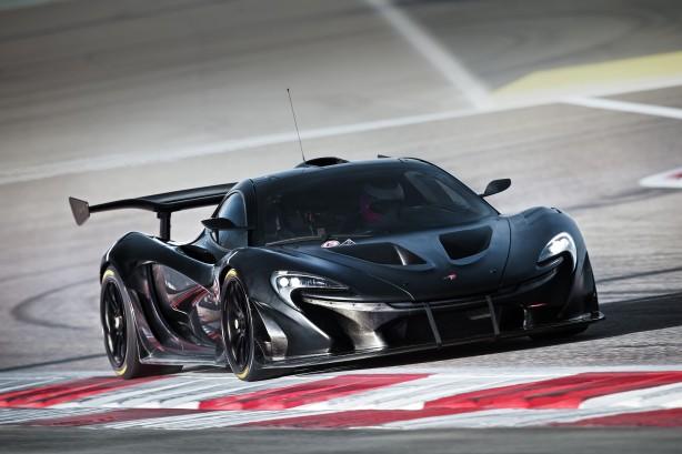 McLaren P1 GTR Hot Weather Test Bahrain Sept 2014