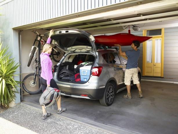 Suzuki S-Cross luggage space