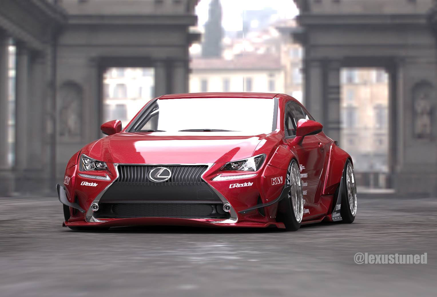 Lexus Rc Gets Custom Widebody For Sema Forcegt Com