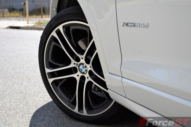 2014 BMW X3 xDrive30d LCI 20-inch M wheel