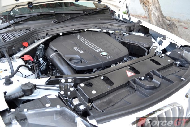 2014 BMW X3 xDrive30d LCI engine