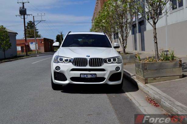 2014 BMW X3 xDrive30d LCI front