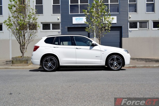 2014 BMW X3 xDrive30d LCI side