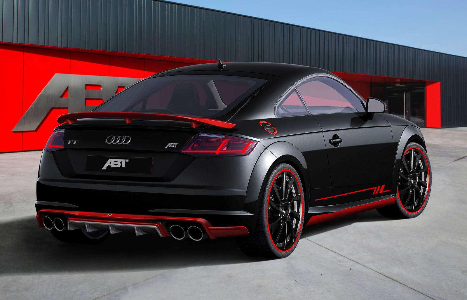 Audi Tuning Abt Sportline Tuned Audi Tt Coupe
