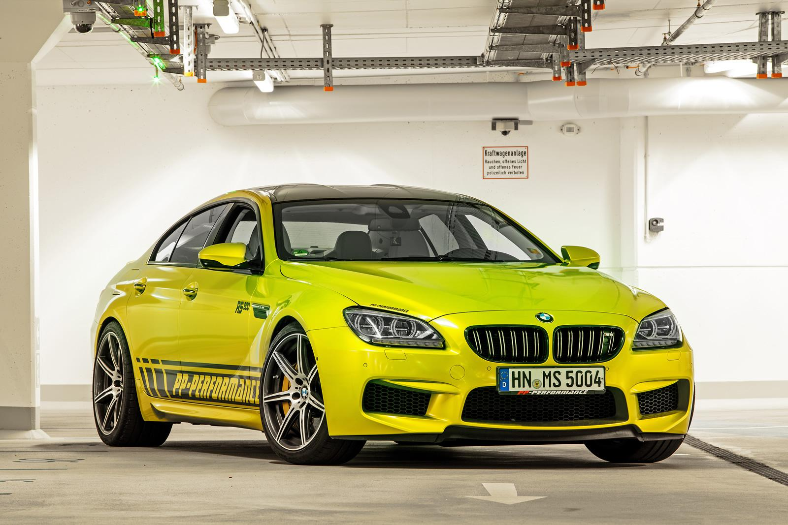 Bmw Tuning Pp Performance Tuned Bmw M6 Rs800 Gran Coupe