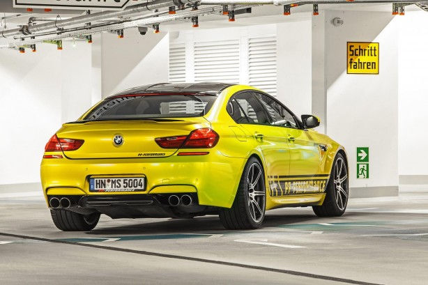 BMW M6 Gran Coupe by PP-Performance rear