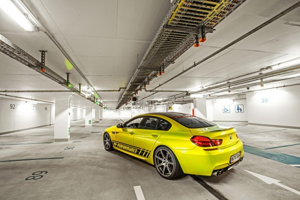 BMW M6 Gran Coupe by PP-Performance rear quarter