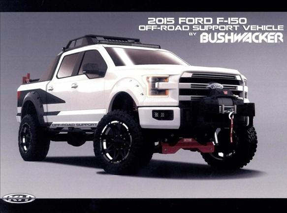 Bushwacker Off-Road Support Ford F-150