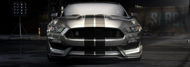 Ford Shelby GT350 Mustang front