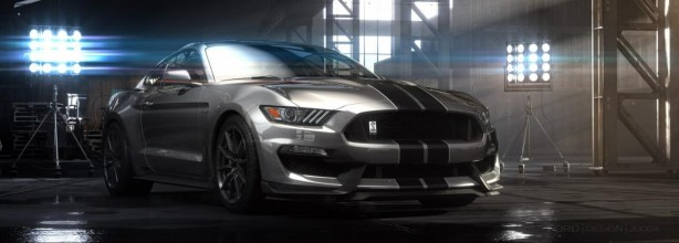 Ford Shelby GT350 Mustang front quarter