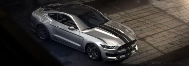 Ford Shelby GT350 Mustang top