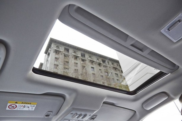 Holden Trax LTZ sunroof