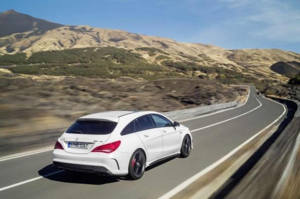 Mercedes-Benz CLA 45 AMG Shooting Brake rear quarter