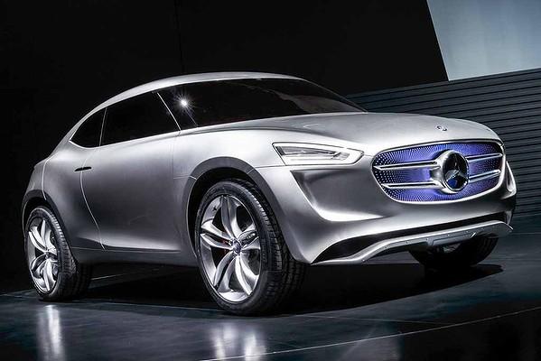 Mercedes-Benz G-Code concept front quarter