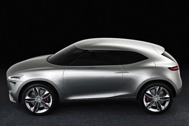 Mercedes-Benz G-Code concept side