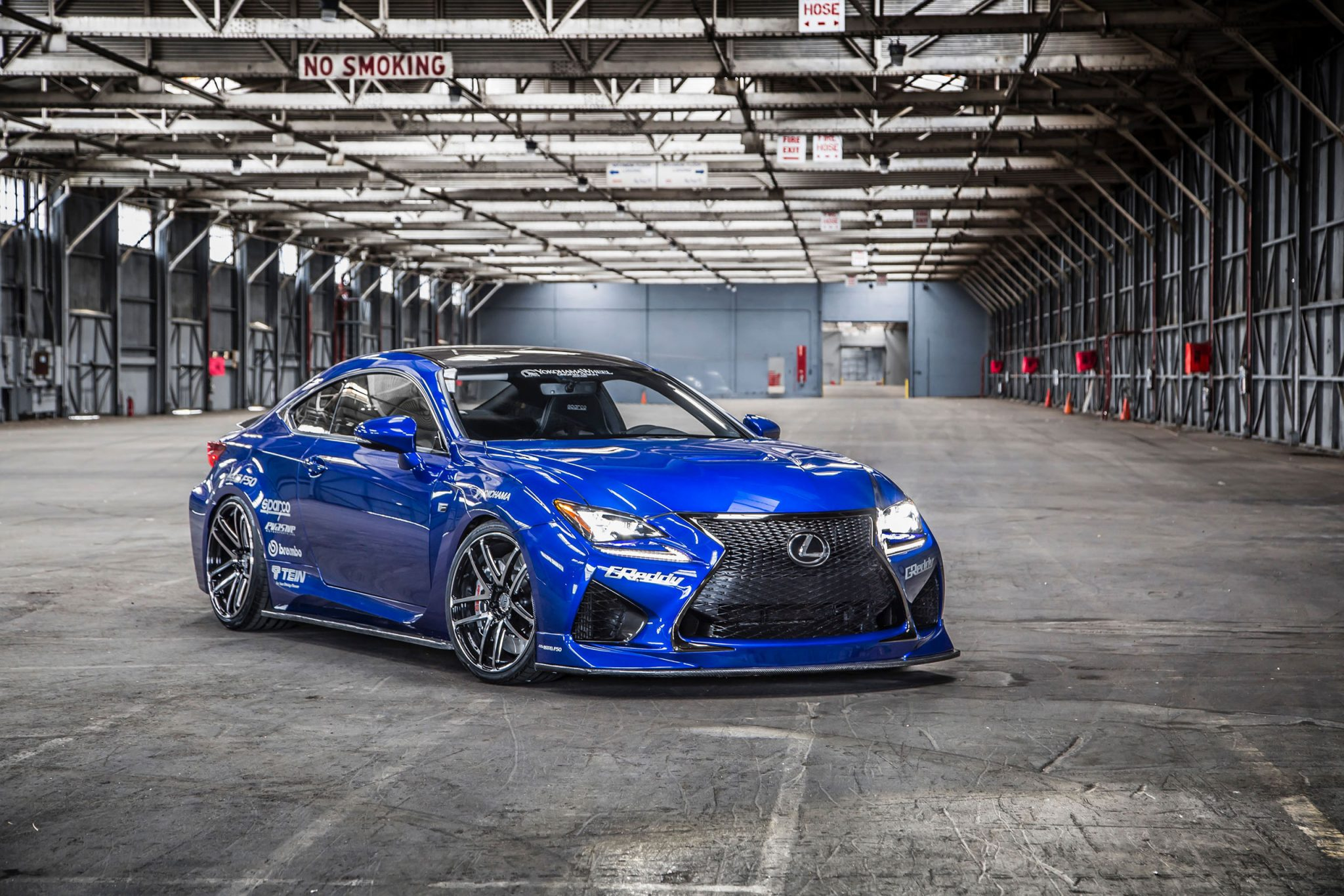 Lexus Cars News Lexus Rc F Gets Hotted Up For Sema