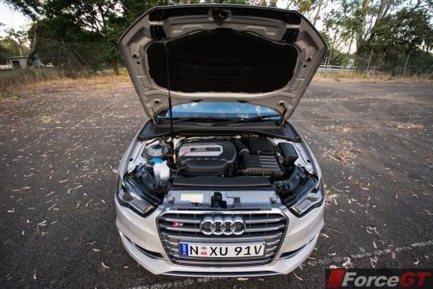 2014 Audi S3 Sedan engine