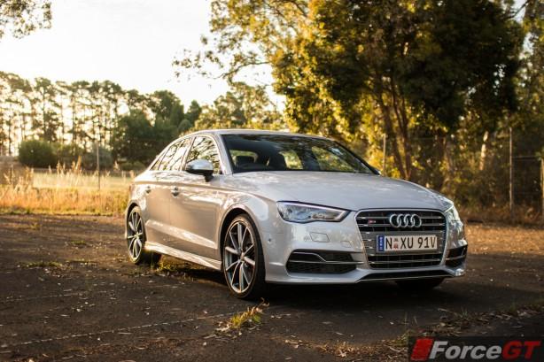 2014 Audi S3 Sedan front quarter
