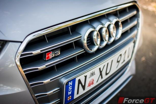 2014 Audi S3 Sedan grille