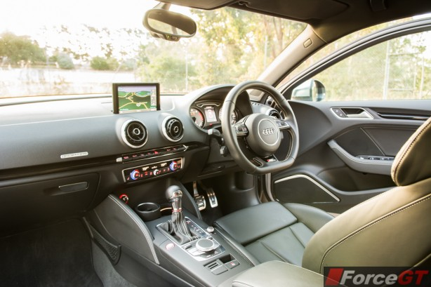 2014 Audi S3 Sedan interior
