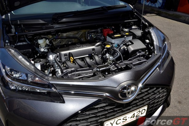 2014 Toyota Yaris ZR Hatch engine