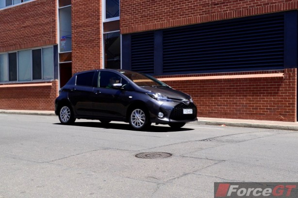 2014 Toyota Yaris ZR Hatch front quarter rolling