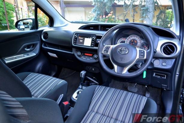 2014 Toyota Yaris ZR Hatch interior