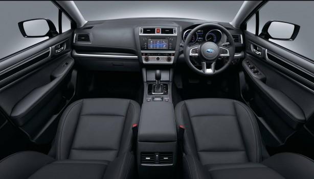 2015 Subaru Outback 2.5i interior